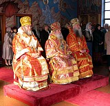 Metropolitan Laurus and Archbishop Hilarion on the Namesday of Bishop Peter of Cleveland